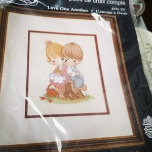 Cross stitch kit Precious Moments